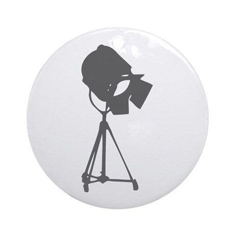 movies film 114-Sev gray Ornament (Round) by 53VintageYear