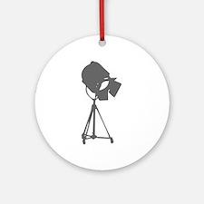 movies film 114-Sev gray Ornament (Round)