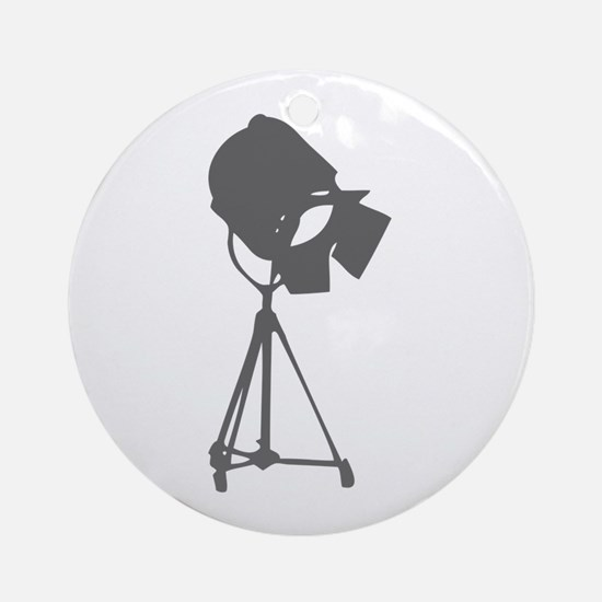 movies film 114-Sev gray Ornament (Round)
