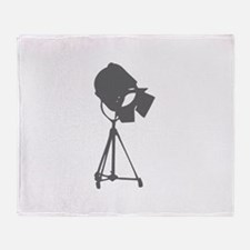 movies film 114-Sev gray Throw Blanket
