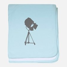 movies film 114-Sev gray baby blanket
