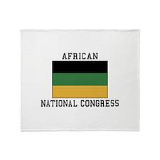 African National Congress Throw Blanket