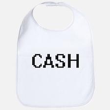 Cash digital retro design Bib