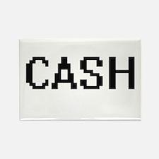 Cash digital retro design Magnets