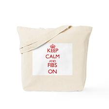 Fibs Tote Bag