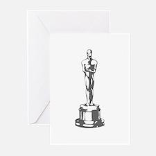 movies film 49-Sev gray Greeting Cards