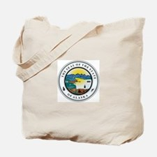 Alaska State Seal Tote Bag