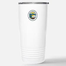 Alaska State Seal Travel Mug