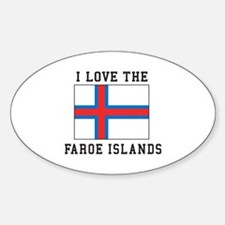 I Love Faroe Islands Decal