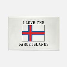 I Love Faroe Islands Magnets