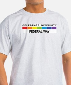 FEDERAL WAY - Celebrate Diver T-Shirt
