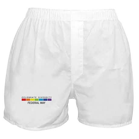 FEDERAL WAY - Celebrate Diver Boxer Shorts