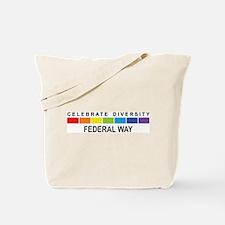 FEDERAL WAY - Celebrate Diver Tote Bag