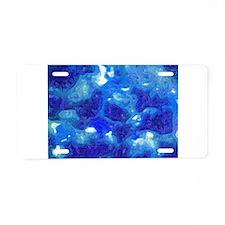 Cloudcover Fauvist Oil Painting Aluminum License P