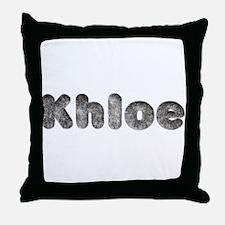 Khloe Wolf Throw Pillow
