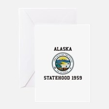 Alaska Statehood 1959 Greeting Cards