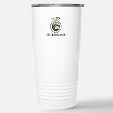 Alaska Statehood 1959 Travel Mug