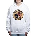 USS HYMAN Women's Hooded Sweatshirt