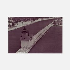 Holland Harbor Lighthouse Rectangle Magnet
