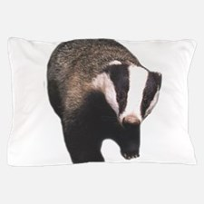 Cute Badger Pillow Case