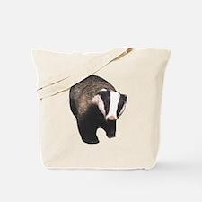 Cute Badger Tote Bag