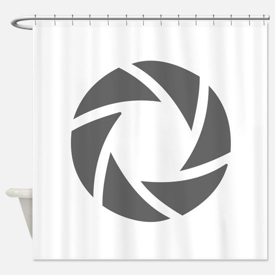 movies film 72-Sev gray Shower Curtain