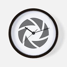 movies film 72-Sev gray Wall Clock