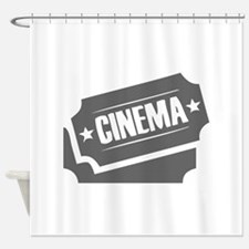 movies film 74-Sev gray Shower Curtain