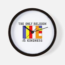 Kindness Wall Clock