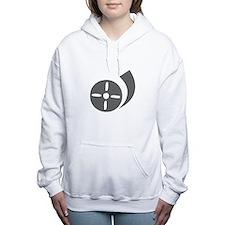movies film 78-Sev gray Women's Hooded Sweatshirt