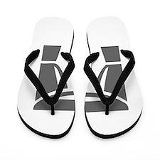 movies film 80-Sev gray Flip Flops