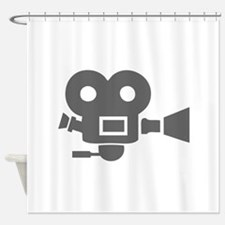 movies film 83-Sev gray Shower Curtain