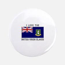 I love the British Virgin Islands Button
