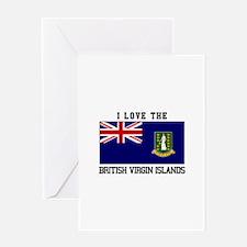 I love the British Virgin Islands Greeting Cards