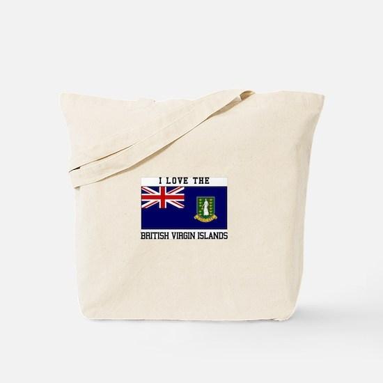 I love the British Virgin Islands Tote Bag
