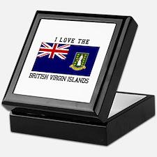 I love the British Virgin Islands Keepsake Box