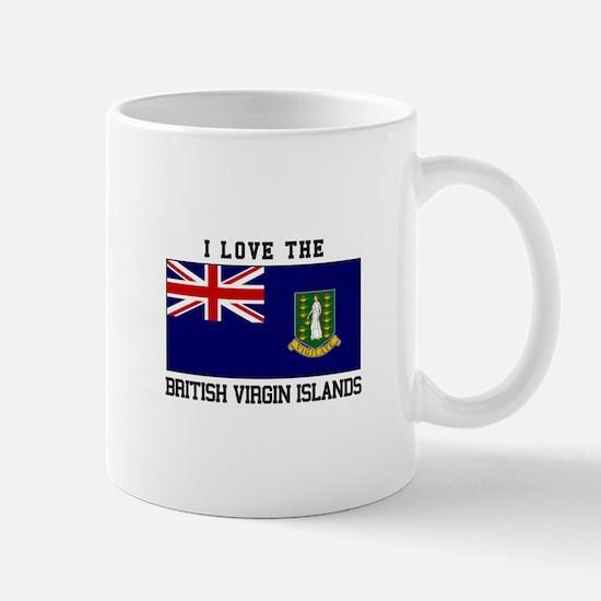 I love the British Virgin Islands Mugs