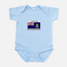 I love the British Virgin Islands Body Suit