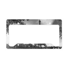 Eiffel Tower License Plate Holder