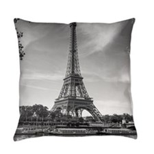 Eiffel Tower Everyday Pillow
