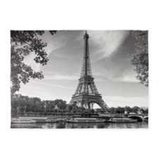 Eiffel Tower 5'x7'Area Rug