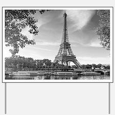 Eiffel Tower Yard Sign