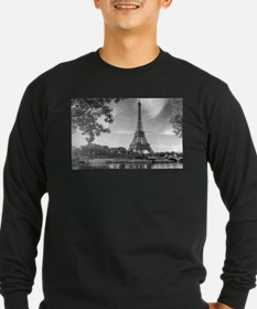 Eiffel Tower Long Sleeve T-Shirt