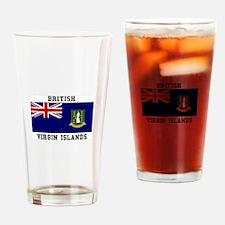 British Virgin Islands Drinking Glass
