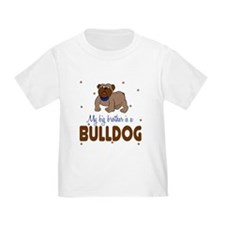 Funny Big brother dog T