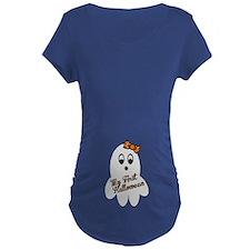 My First Halloween Maternity T-Shirt