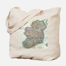 Vintage Map of Ireland (1799) Tote Bag