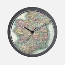 Vintage Map of Ireland (1799) Wall Clock