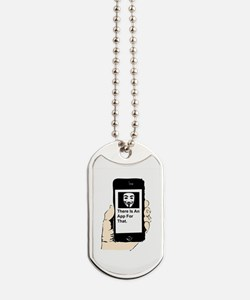 There is an app. Dog Tags