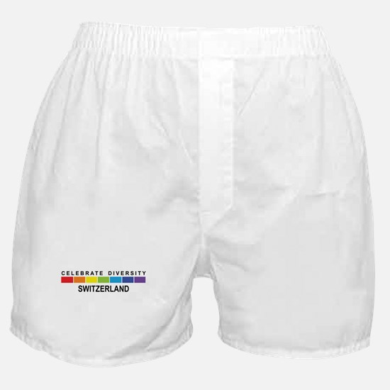 SWITZERLAND - Celebrate Diver Boxer Shorts